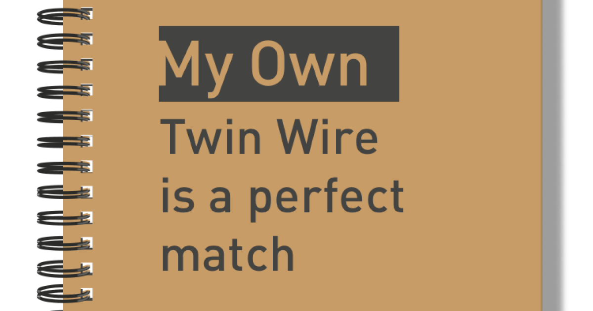 Branded Twinwire Notebooks My Own Stationery My Own Stationery