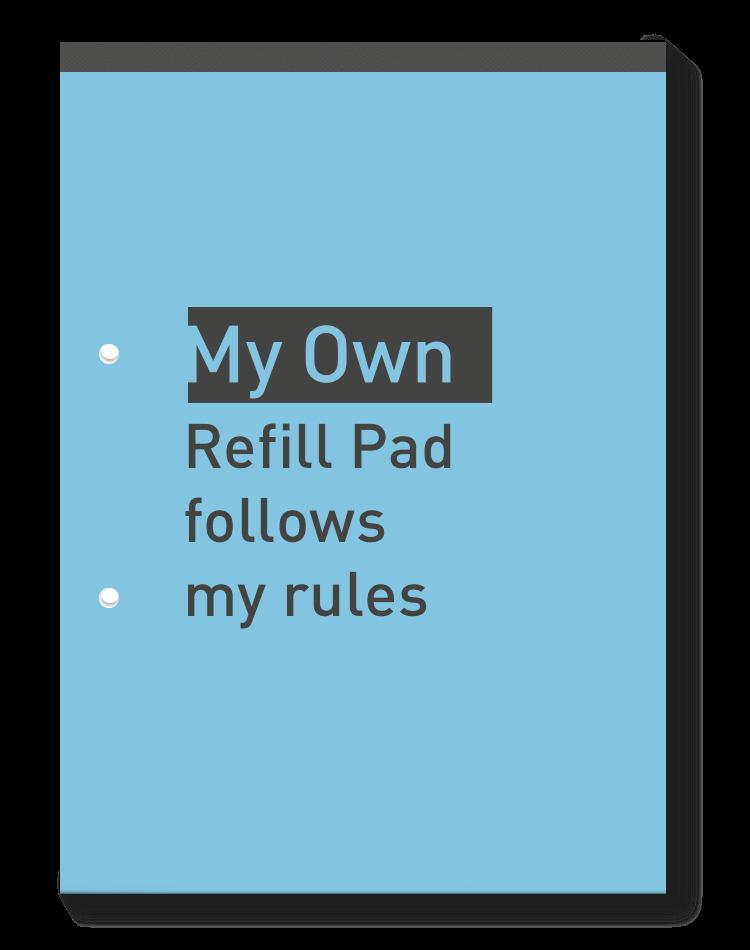 Refill Pad